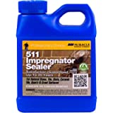 Miracle Sealants 511 PT SG Impregnator Sealer for Stone, Tile, Slate, Ceramic, Quartz 16 oz Pint (#.0 1 - Pint)