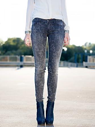 Starlet Skinny Frauen Jeans, Farbe Grau Gr W29 L34  Amazon.de ... cd16d11415