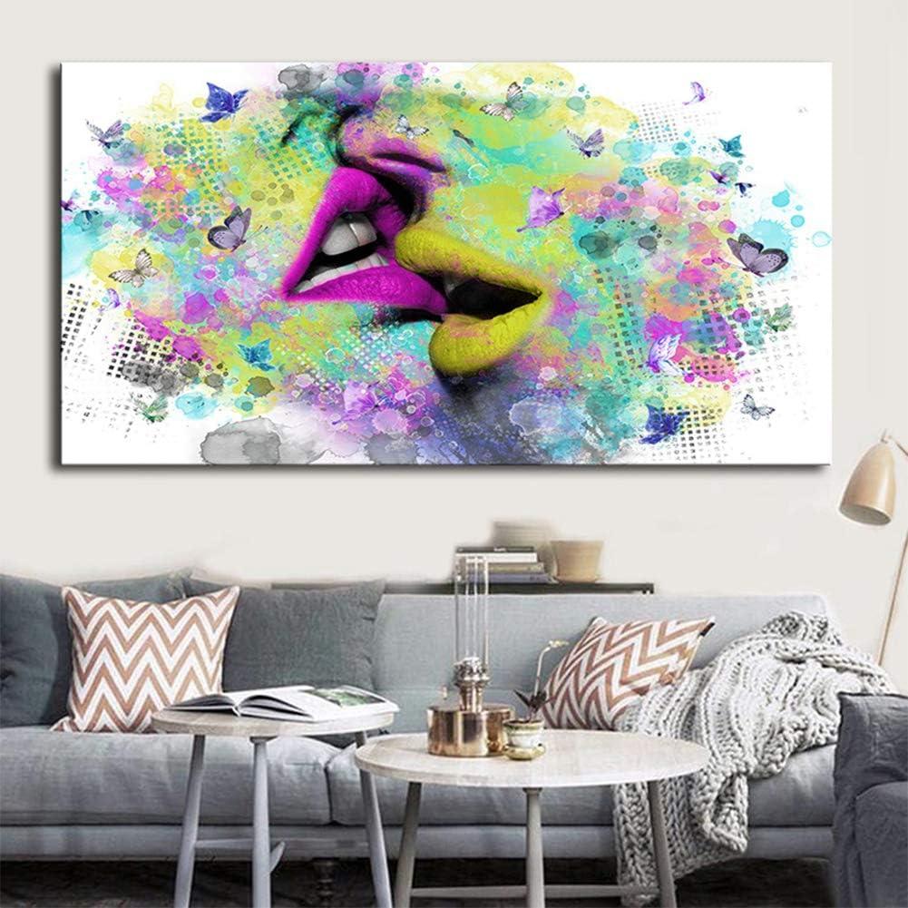Cuadros Abstractos Modernos Pintados a Mano de