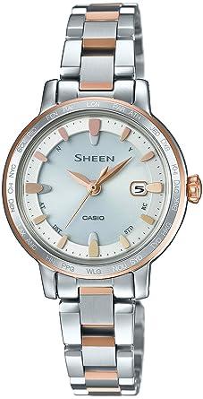 f23ebb5dd0 Amazon | [カシオ]CASIO 腕時計 シーン 電波ソーラー SHW-1900BSG-7AJF ...