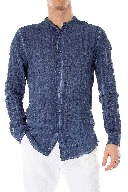 XXL Hydra Clothing Luxury mode Homme 4272Fbleu Bleu Chemise   Printemps été 19
