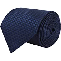 Barata Formal Broad Ties For Men, Navy Blue Tie