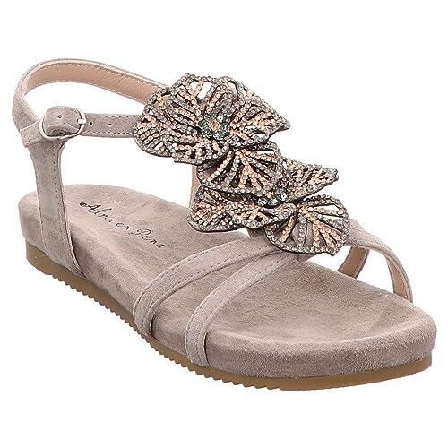 6ac4b8bea52 Alma en Pena V18461 Women, Suede, Slingback: Amazon.co.uk: Shoes & Bags
