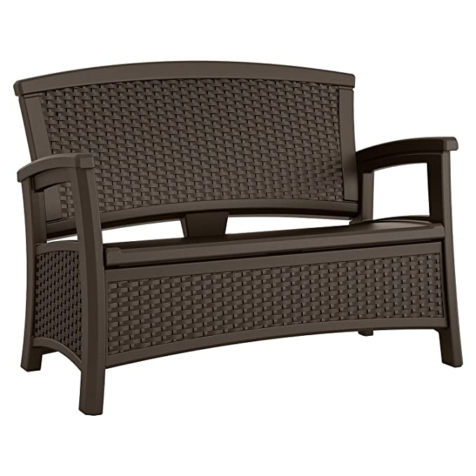 Suncast Elements Loveseat with Storage – The Weatherproof Outdoor Loveseat