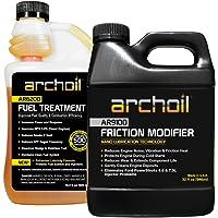 Archoil Performance Kit P-2 for All Vehicles - 32oz AR9100 Friction Modifier + 16.9oz AR6200 Fuel Treatment