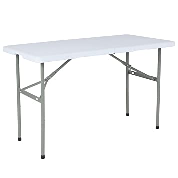 amazon com flash furniture 24 w x 48 l bi fold granite white