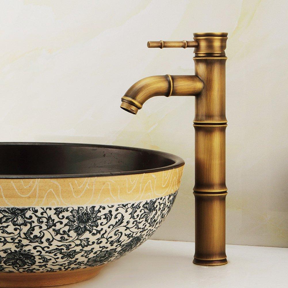 best European antique wash basin faucet/copper Washbasin faucet