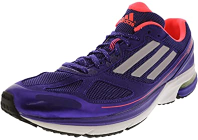 a9326a9d59be adidas Women s Adizero Boston 4 Black Purple Pume Red Zest Ankle-High Running  Shoe