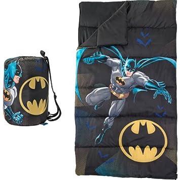 Amazon.com: DC Comics Batman Sleeping Bag with Sling Carry Bag ...