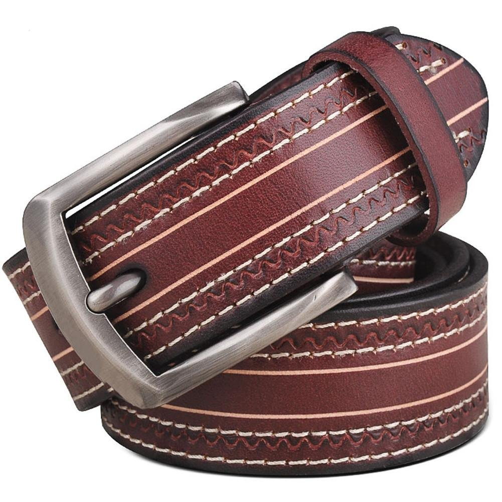 TT Men 's-beiläufige Gürtelschnalle Gürtel Mode Persönlichkeit Hose Gürtel