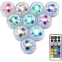Mini RGB LED Luz Sumergible,LUXJET® Color Cambio Lámpara