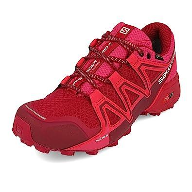 bcc1c97e7628 Salomon Speedcross Vario 2 GTX W Cerise Beet Red Pink Yarrow  Amazon.co.uk   Shoes   Bags