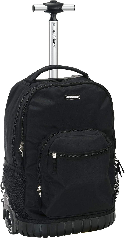 Rockland Single Handle Rolling Backpack