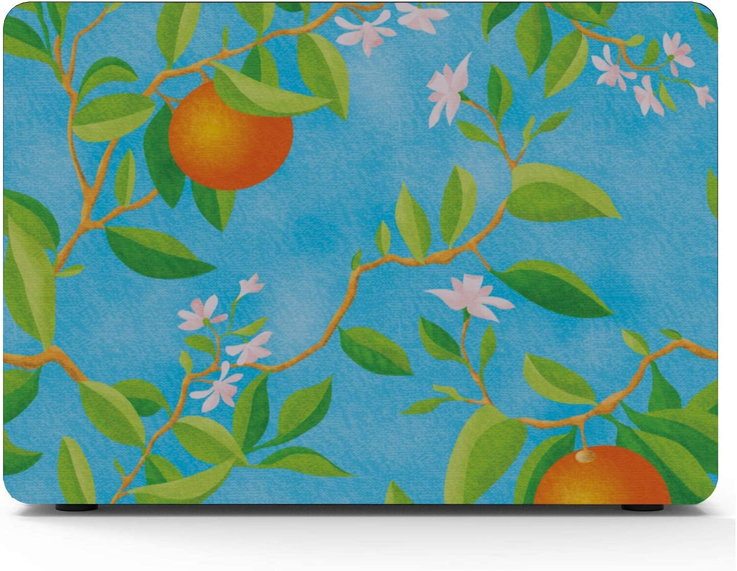 Mac Case Summer Retro Sweet Sour Orange Tree Plastic Hard Shell Compatible Mac Air 11 Pro 13 15 MacBook Pro Protective Case Protection for MacBook 2016-2019 Version
