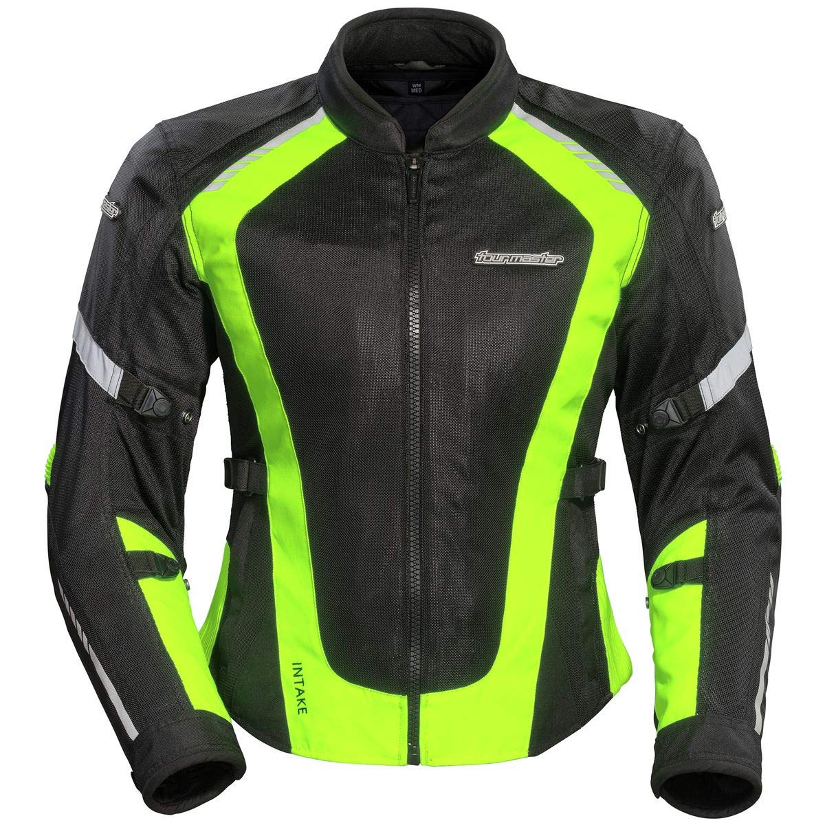 Tour Master Intake Air 5 Womens Street Motorcycle Jackets Black//Black//Medium