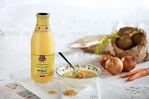Caldo De Pollo Ferrer 1L: Amazon.es: Alimentación y bebidas
