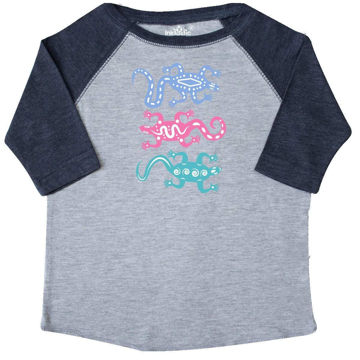 inktastic Lizard Native American Southwest Tribal Toddler T-Shirt