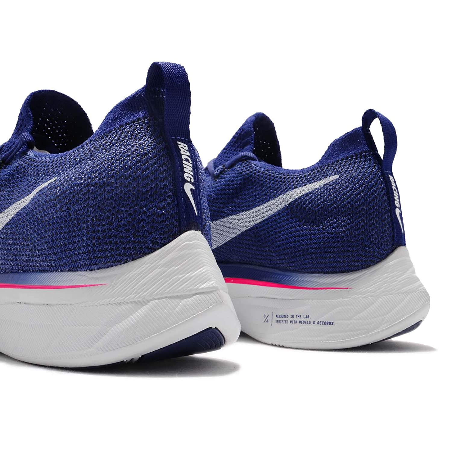 best authentic c8195 ad1f9 Athletic Shoes Nike Vaporfly 4% Flyknit Deep Royal Blue Ghost Aqua Men Running  Shoes AJ3857-400 Shoes