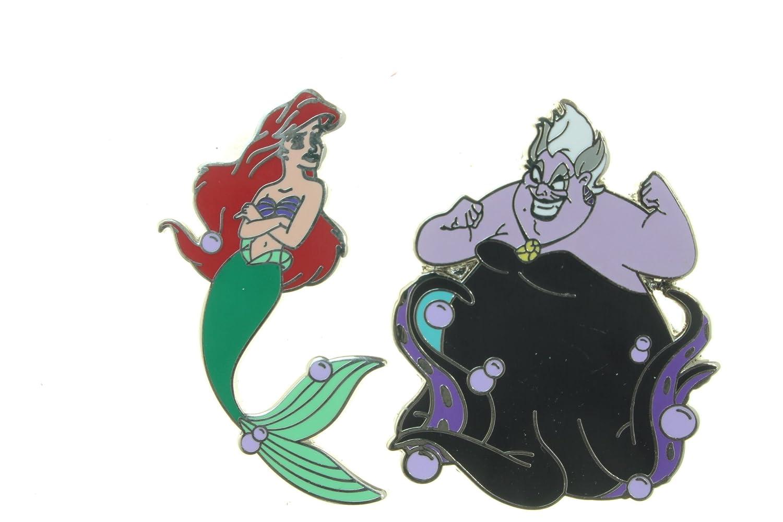 9b315e69 Amazon.com: Disney Ariel and Ursula Set 2 Pin Set: Toys & Games
