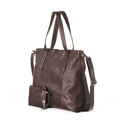 4c09898c7d Ellington Handbags Delia Tote - Large With Crossbody Strap Chocolate ...