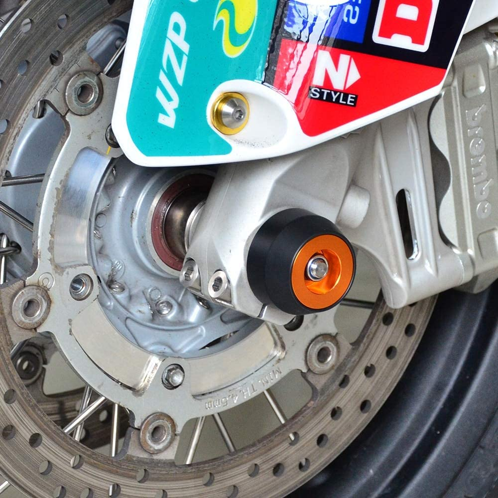 Front Wheel Axle Slider Crash Protection Guard For KTM 1050 1190 1290 Adventure