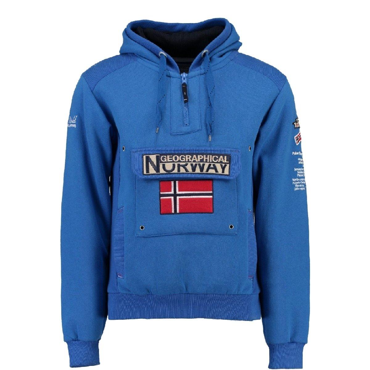 Geographical Norway Männlich Gymclass Kapuzenpullover