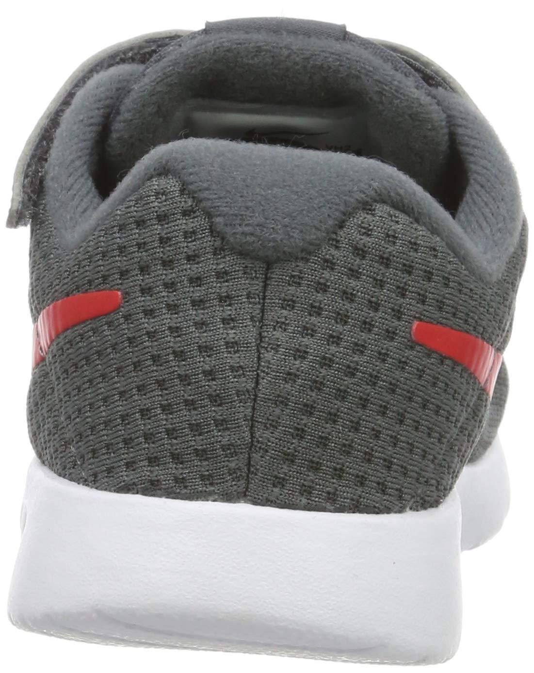 Nike Kid's Tanjun Running Shoe (7 M US Toddler, Dark Grey/University Red/White) by Nike (Image #2)