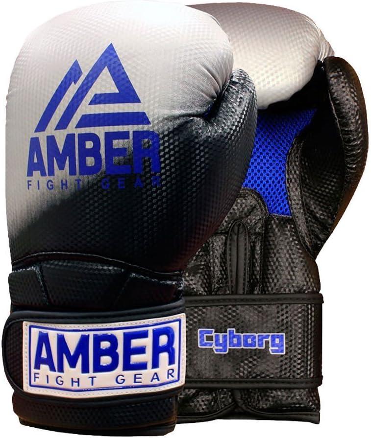 Amber Fight Gear Cyborg 101トレーニング手袋  16oz