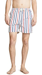 7df628d714 Solid & Striped Men's The Classic Trunks, Navy, Small | Amazon.com
