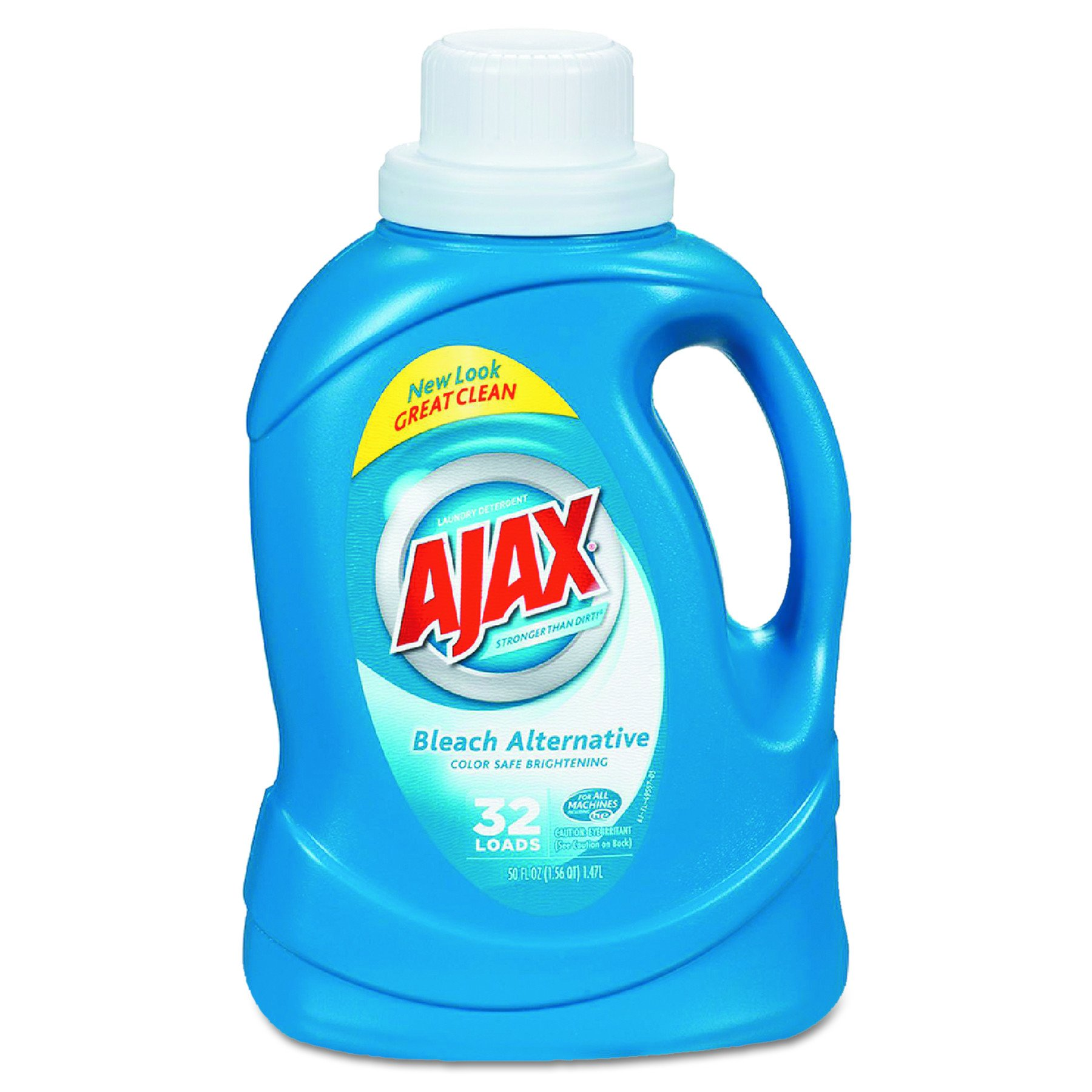 Ajax 49557 50 Oz. 2X Ultra Liquid Laundry Detergent with Bleach (Case of 6) by Ajax