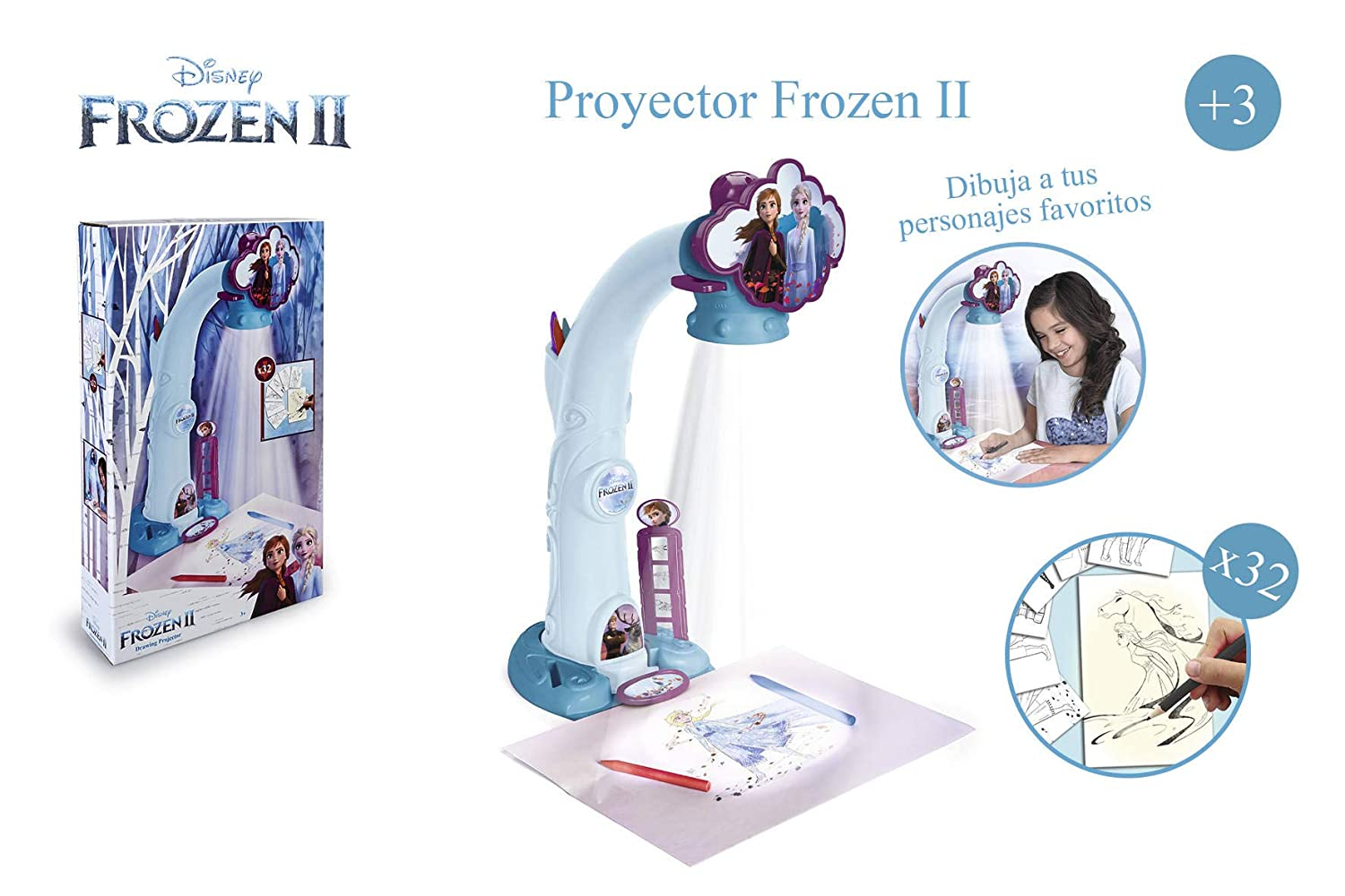 Amazon.com: Magic Artist – Frozen 2 Projector for Drawing ...