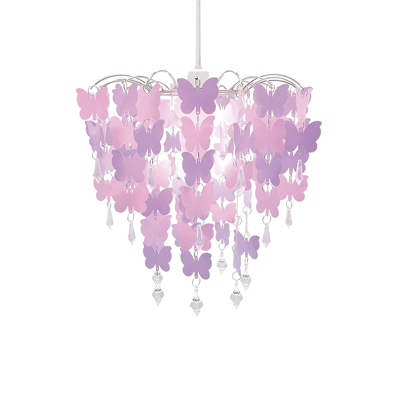 Details About Butterfly Hanging Ceiling Pendant Light Lamp Shade Chandelier Girls Room Nursery
