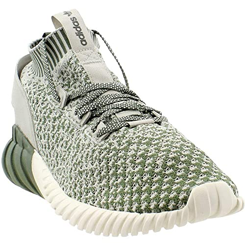 005b6fb74 adidas Men s Originals Tubular Doom Sock PK Green Sesame White   Amazon.co.uk  Shoes   Bags