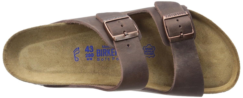 Birkenstock Arizona Soft Footbed Leather Sandal B00EE498VA 43 N EU / 10-10.5 C(N) US|Habana Oiled Leather