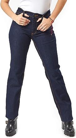 Amazon Com Kolossus Pantalones Vaqueros De Trabajo De Mezcla De Algodon Super Elasticos Para Mujer Con Triple Costura Clothing