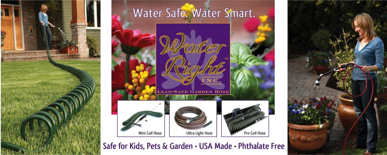 Awesome Amazon.com : Water Right 500 Series High Flow Garden Hose, Lead Free U0026  Drinking Water Safe, 100 Foot X 1/2 Inch, Brass Fittings, Olive Green :  Garden U0026 ...