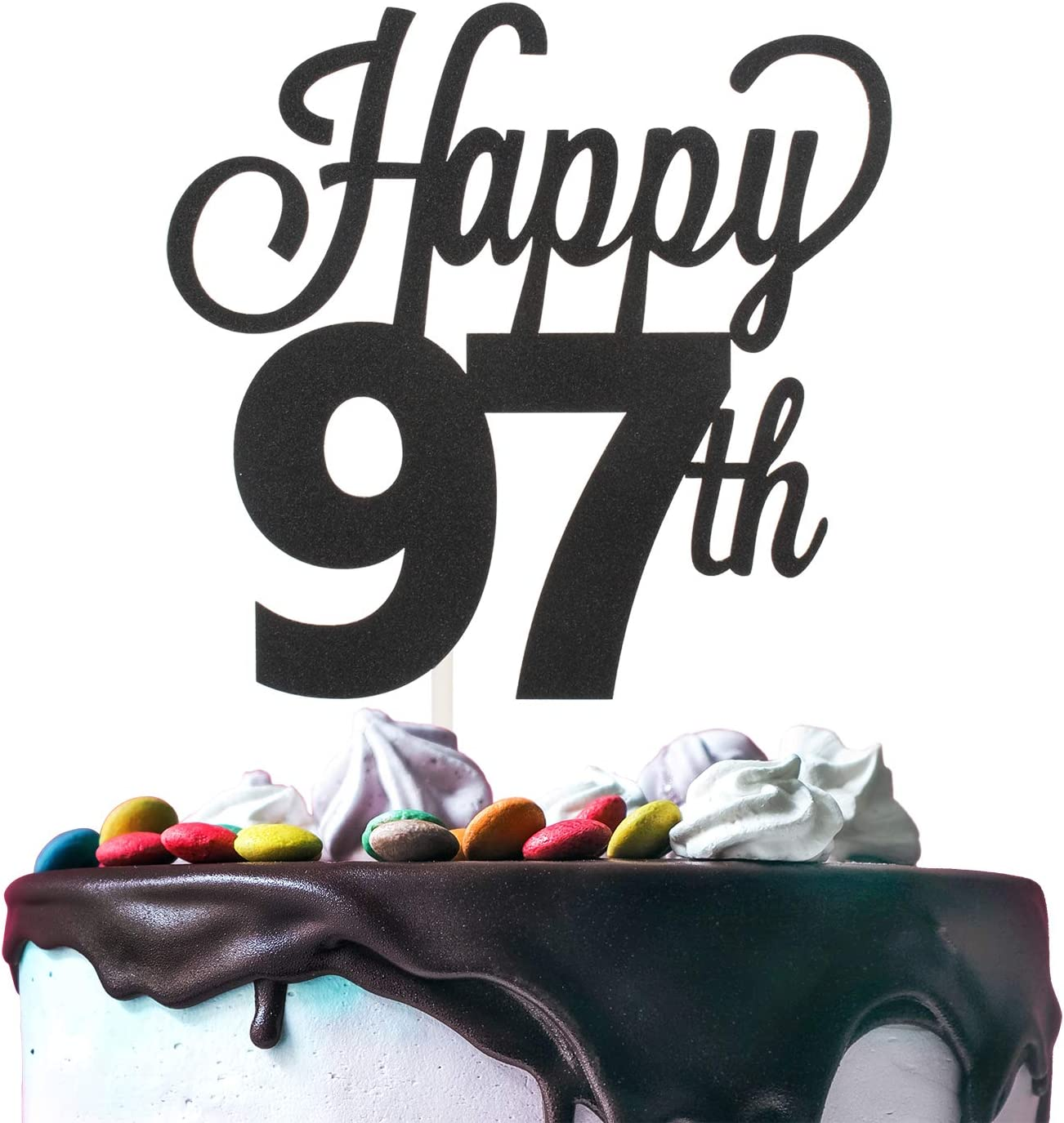 Cake Topper 59th Birthday Wedding Party Anniversary 59 Large Rhinestone NUMBER