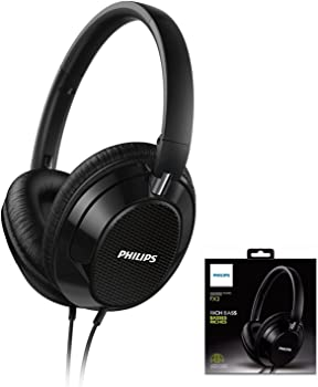 Philips FX3BK Over-Ear 3.5mm Wired Headphones