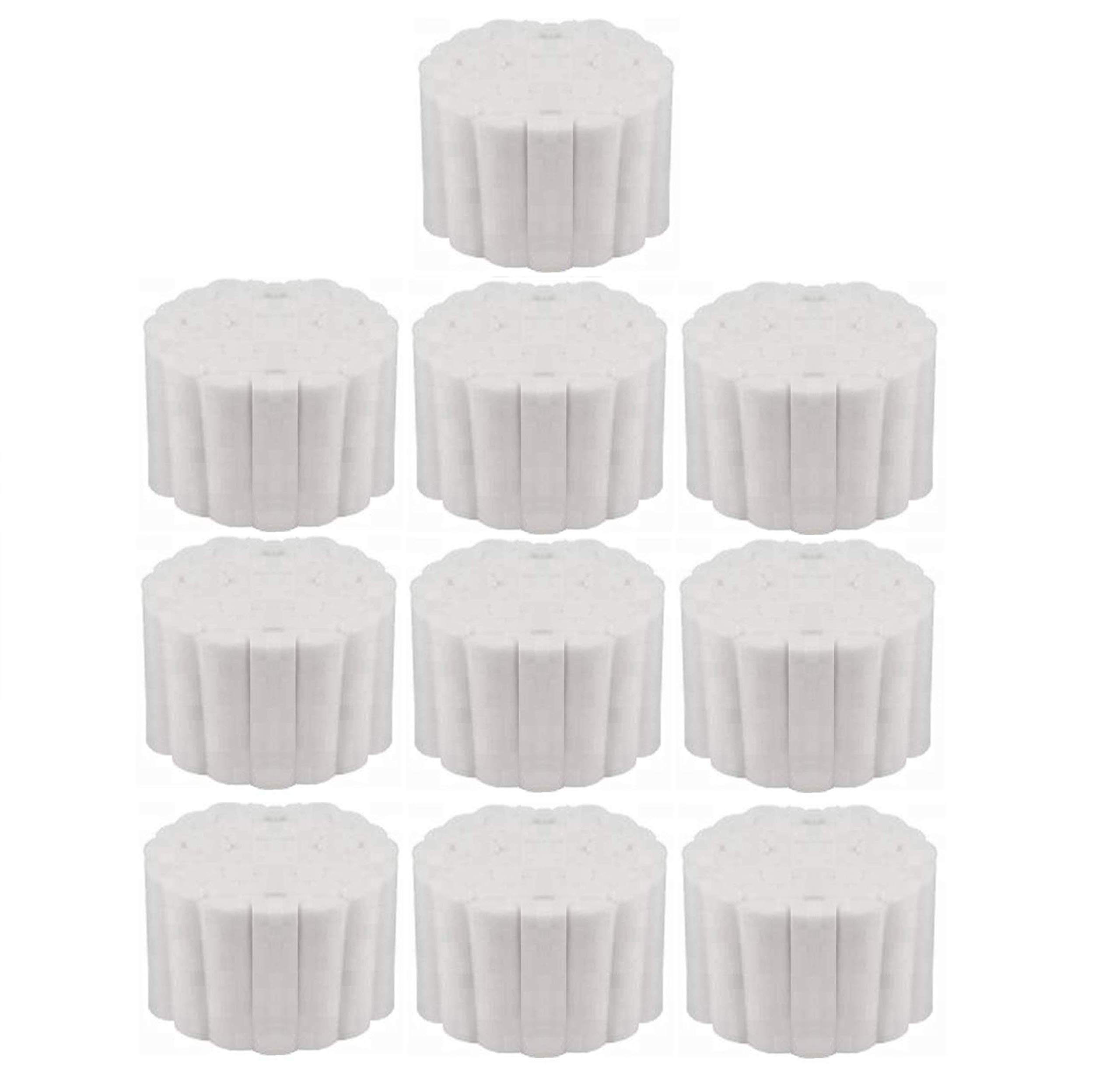 Vakly Dental Cotton Rolls - #2 Medium 1.5'' Non-Sterile 100% High Absorbent Cotton (500 Count)
