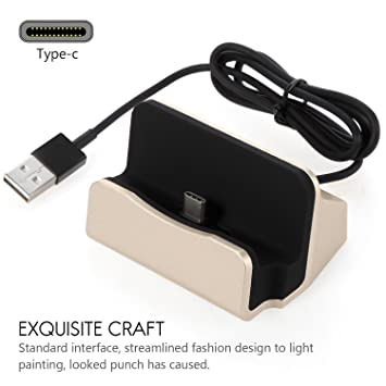 Amazon.com: segmoi USB tipo C Docking Station Cargador Carga ...