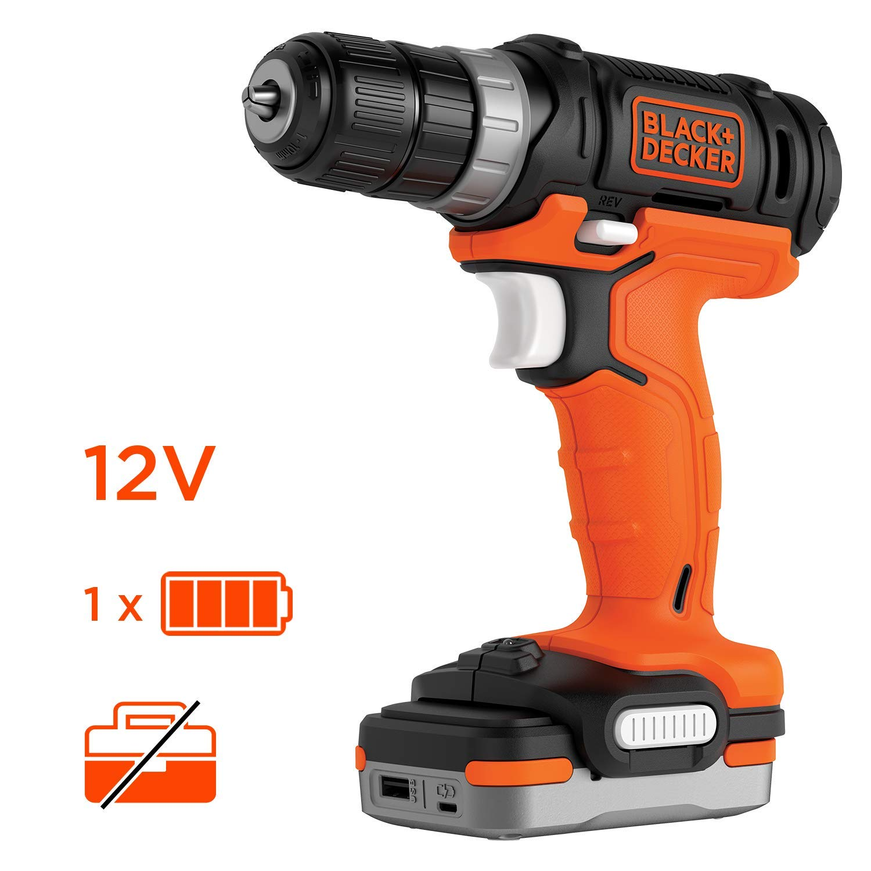 12 V sans batterie BLACK+DECKER BDCDD12USB-XJ Perceuse-Visseuse sans fil
