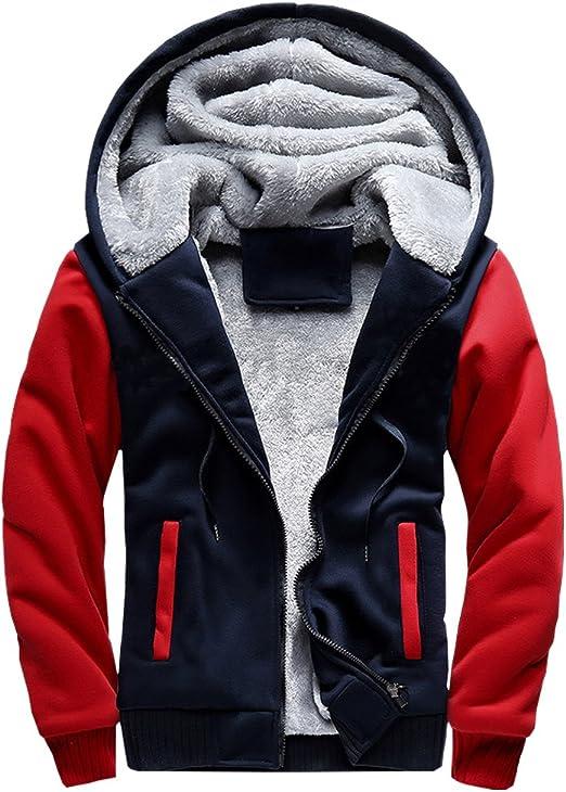 MANLUODANNI - Chaqueta de invierno para hombre, color negro