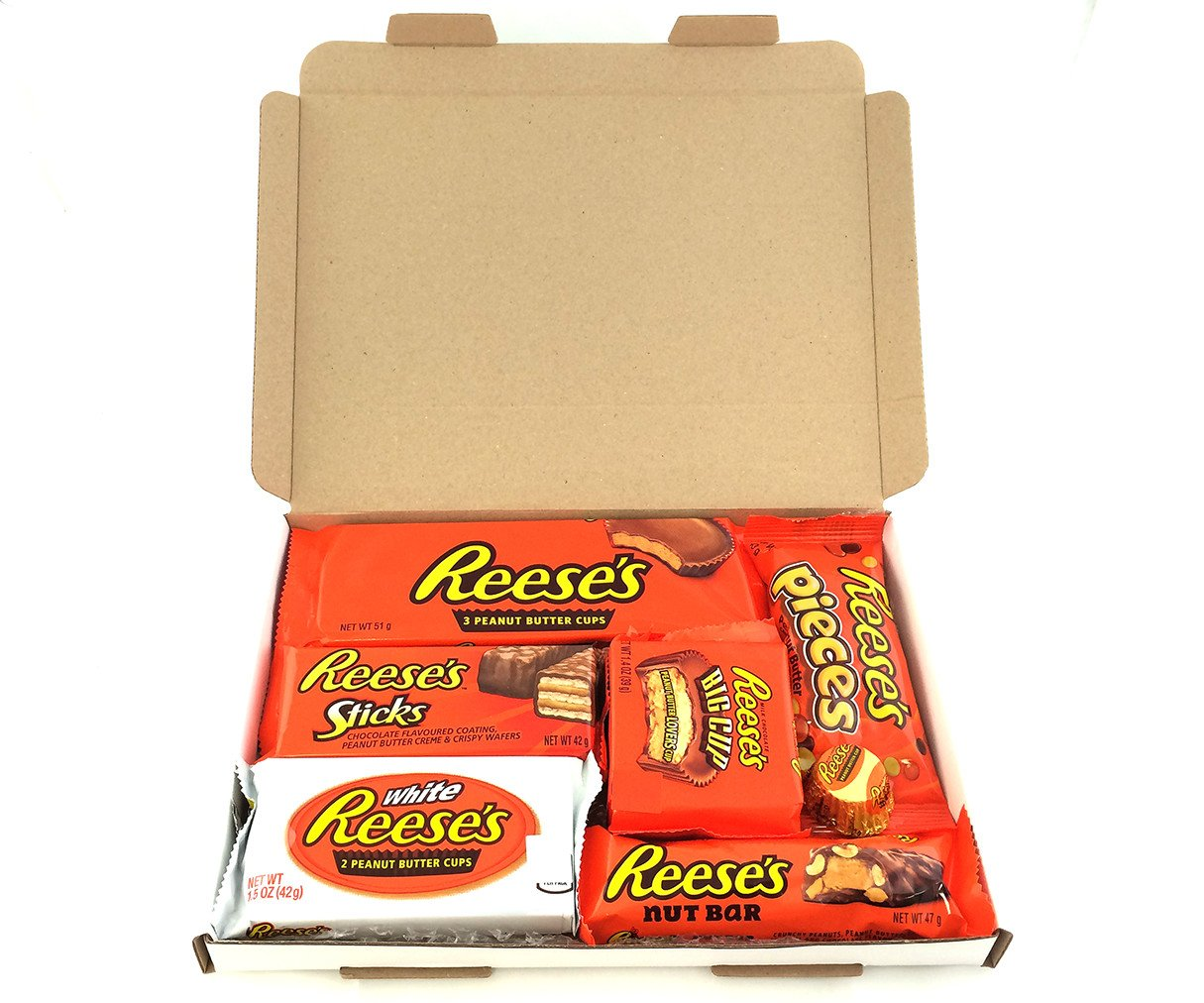 Reeses American Candy Gift Box | Peanut Butter Chocolate Selection ...