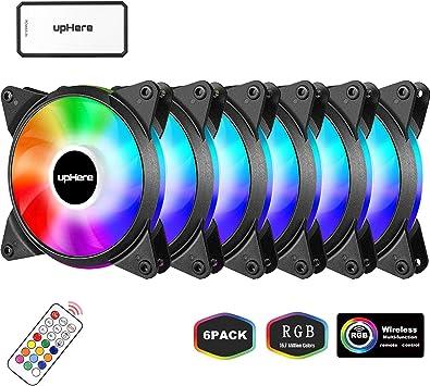 upHere Alto Rendemento Ventilador de PC 120mm: Amazon.es: Electrónica