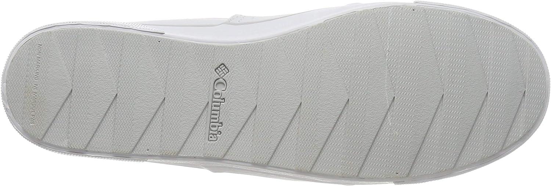 Columbia Women's GOODLIFE Two Gore Slip Sneaker White (White, Silver Grey 100)