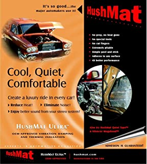 Amazon com: Hushmat 622641 Sound and Thermal Insulation Kit (1964