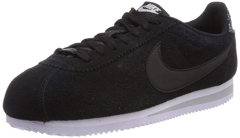 MultiCouleure (noir noir Wolf gris blanc 002) Nike WMNS Classic Cortez Prem, Chaussures de Fitness Femme 42 EU