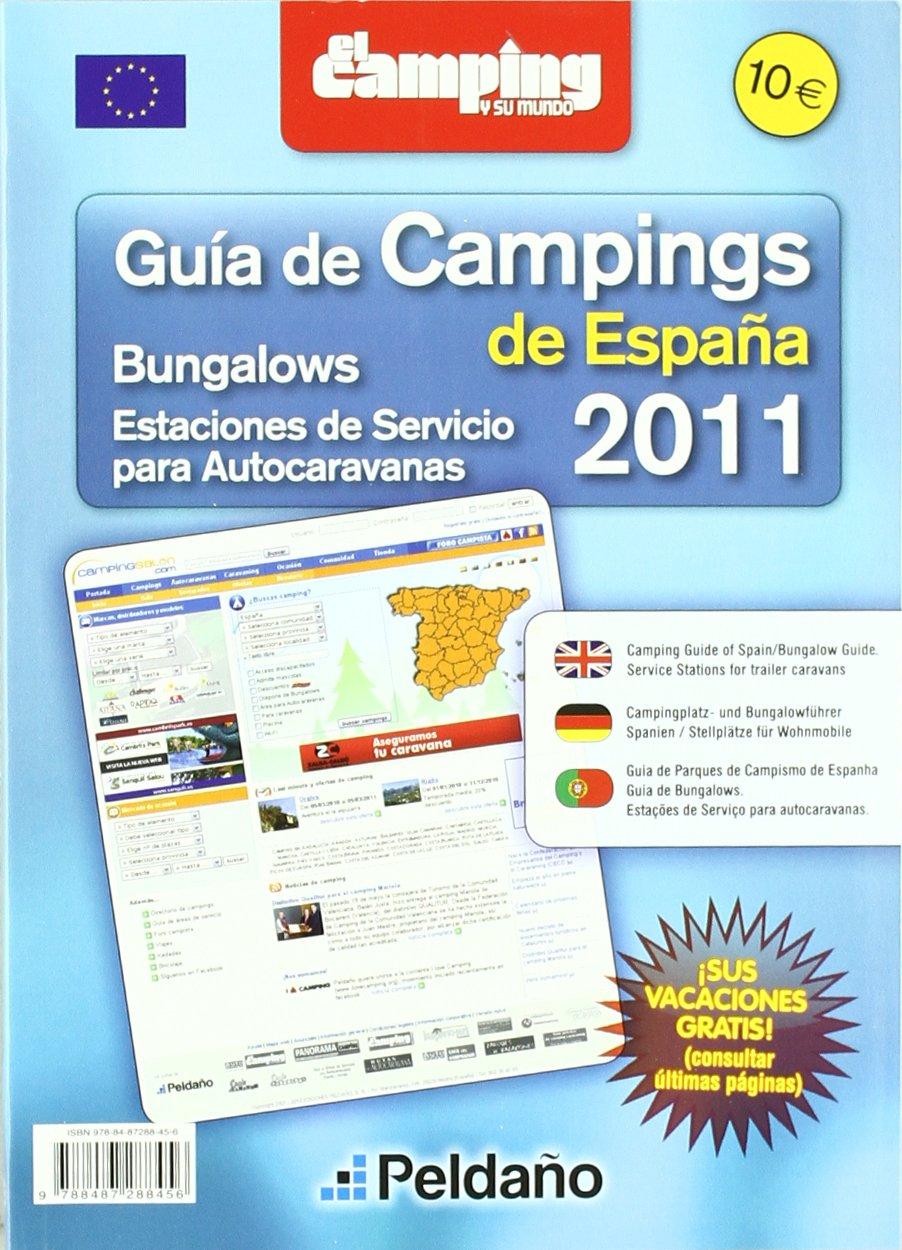 2011 guia de campings bungalows y estaciones servicio autocaravana: Amazon.es: Aa.Vv.: Libros