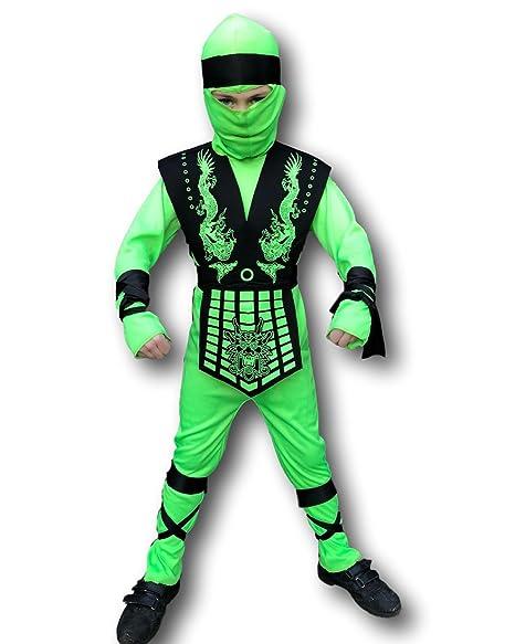 Amazon.com: Disfraz Ninja de goma Johnnies Grasshopper para ...