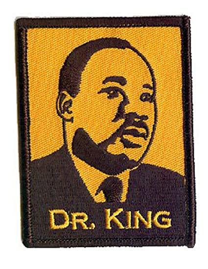Amazon Com David Cherry Artist Iron On Patch Martin Luther King